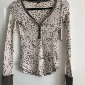 Free People We The Free Thermal Long Sleeve